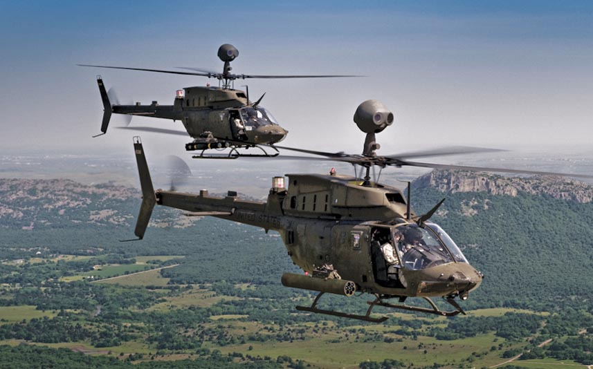 Bell OH-58 Kiowa Warrior