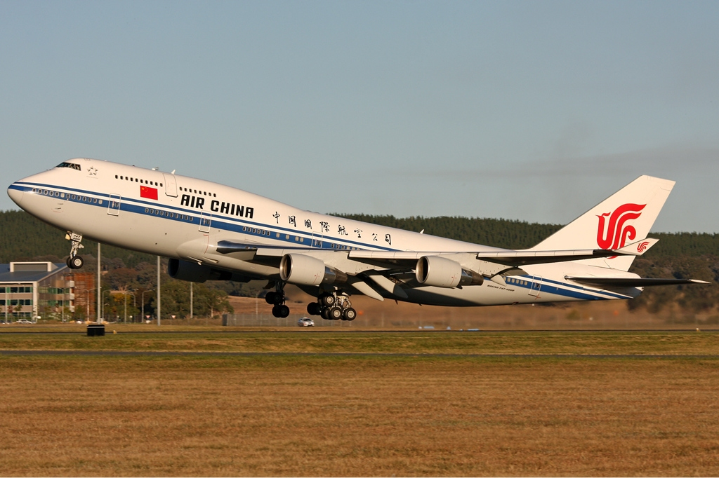 Air China Boeing 747-400