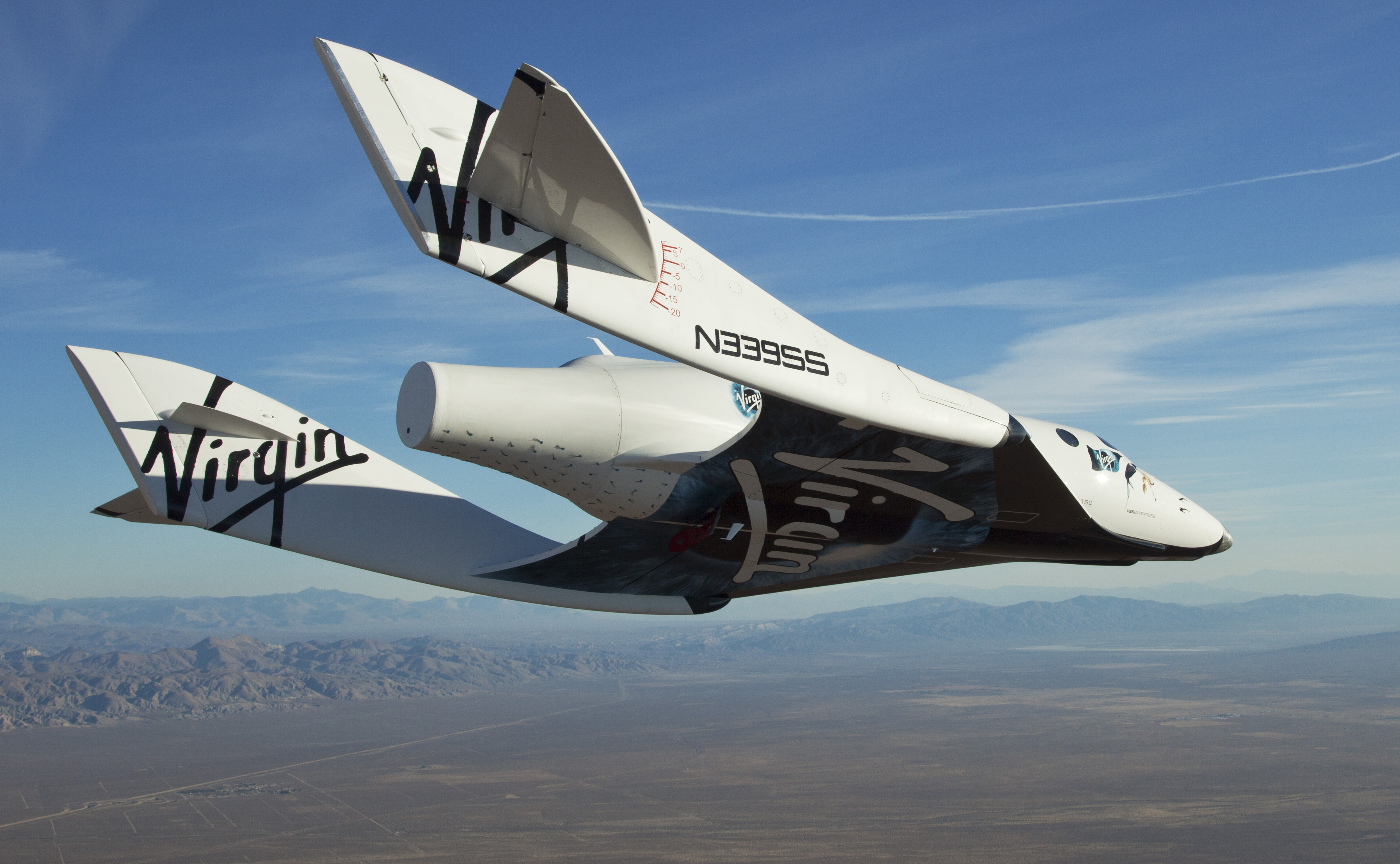 Space Ship Two Virgin Galactic