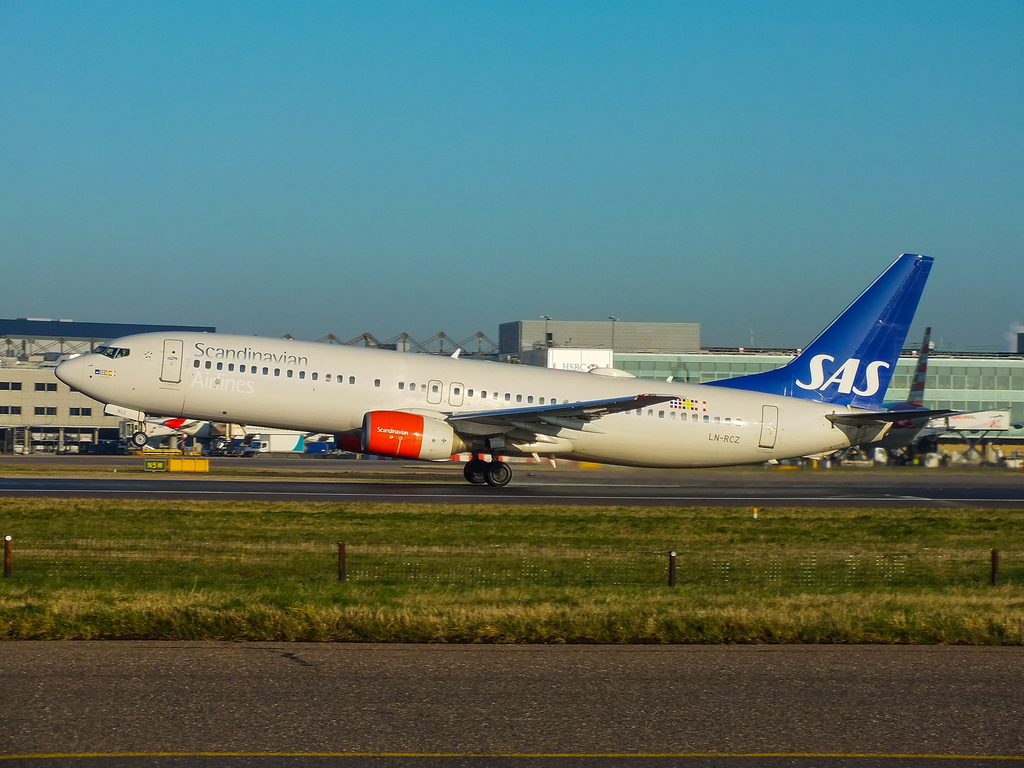 LN-RCZ - Boeing 737-800 авиакомпании Scandinavian Airlines (SAS)